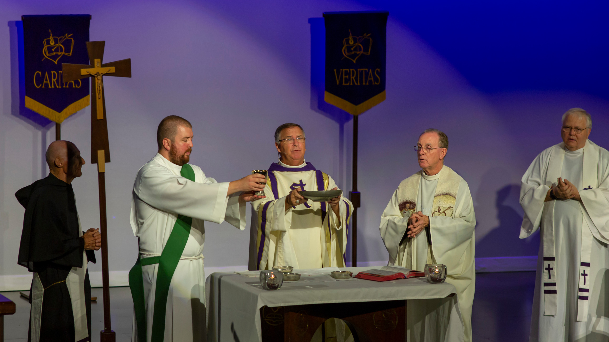 Eucharist is Celebrated