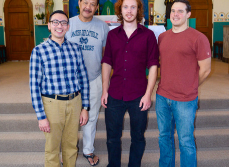 Fall Vocation Discernment Weekend Held in San Diego
