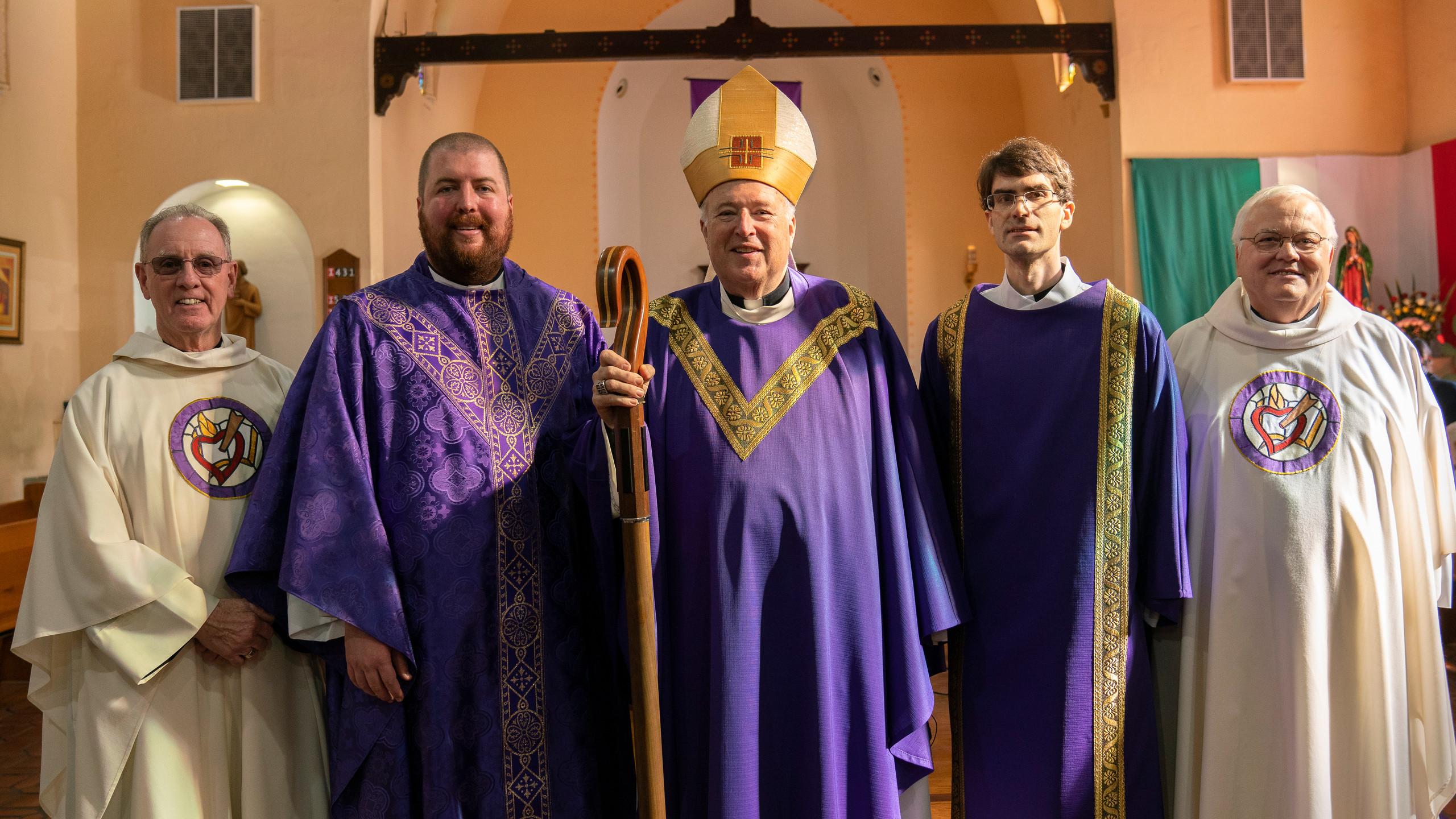 Provincial Fr. Kevin and Formator Fr