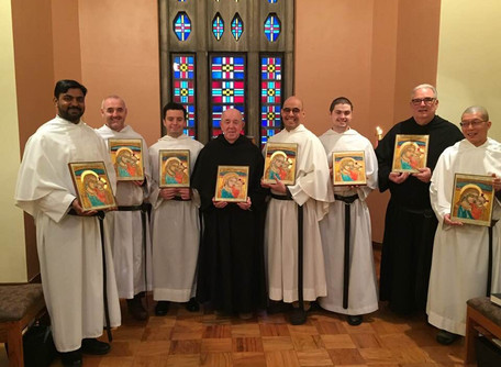 Br. Manny Finds Transformation in Icon Writing