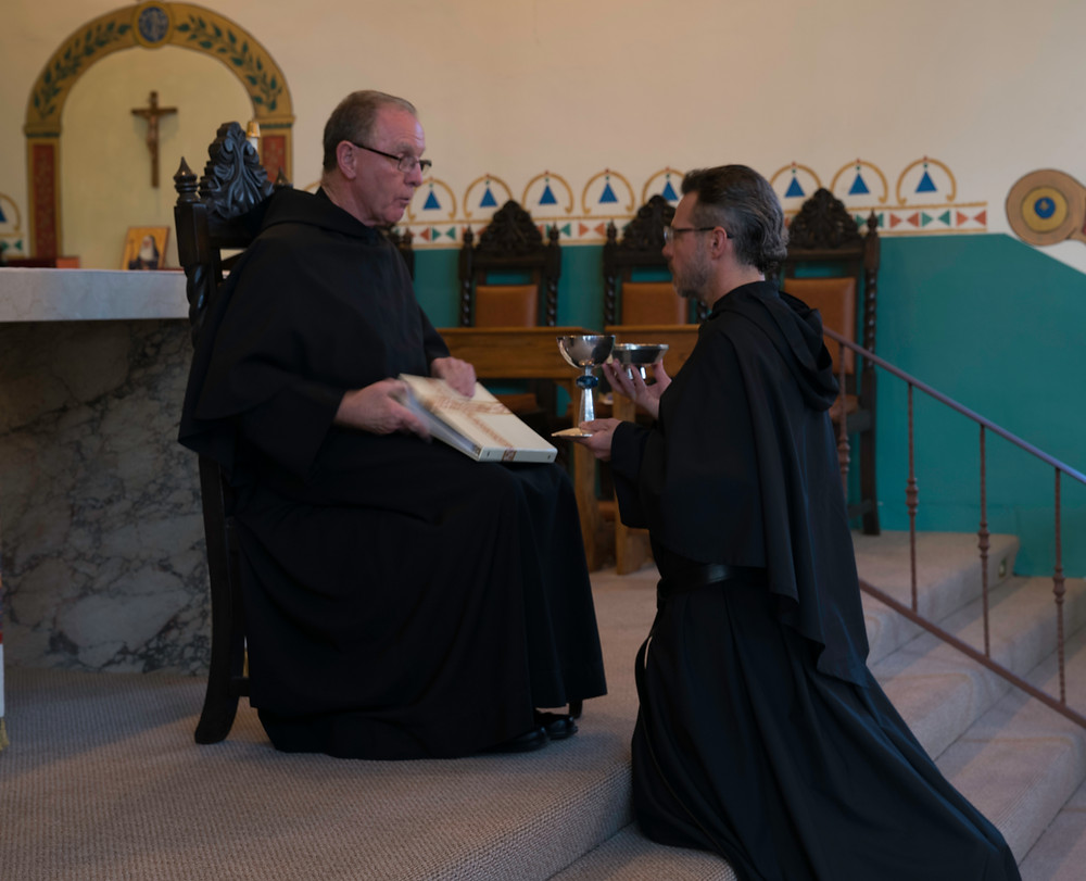 Br. Robert Installed as an acolyte