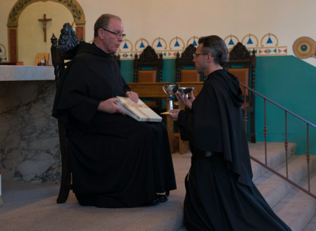 Br. Robert Installed to the Ministries of Acolyte and Lector