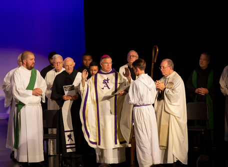 St. Augustine High School Dedicates New Theater