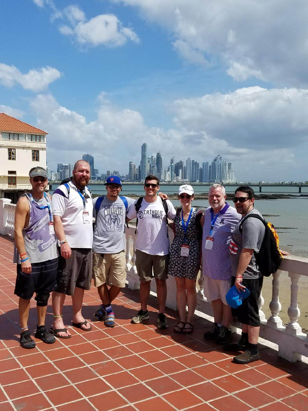 Chaperones in Panama City