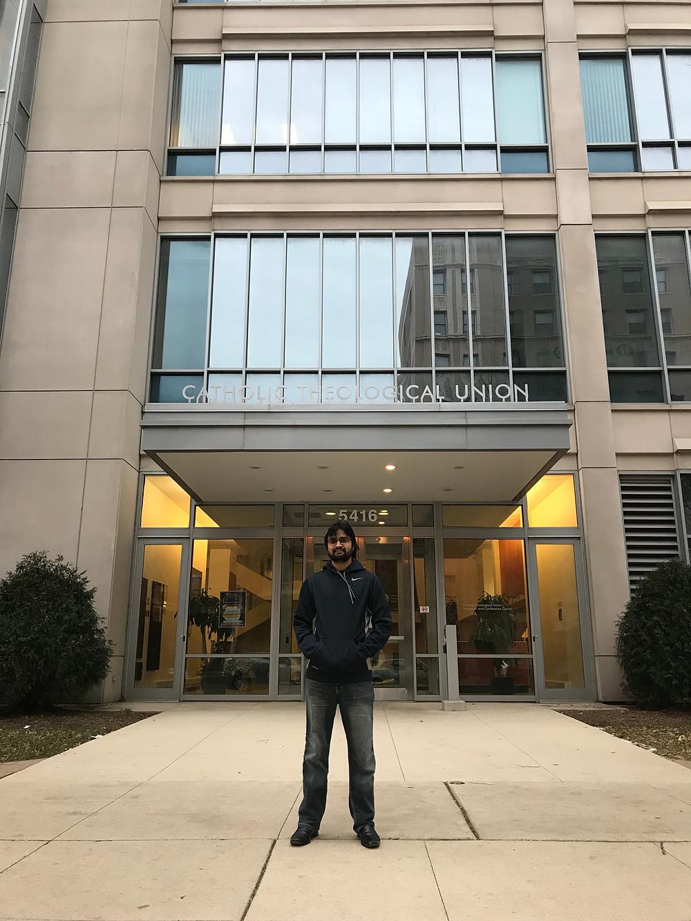 Br. Adnan is front of CTU