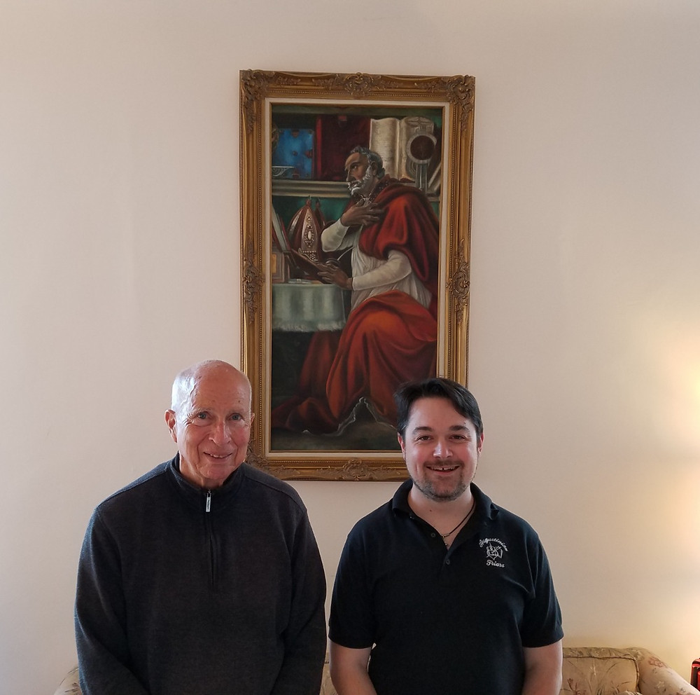 Fr. Tom and Fr. Mark form the new province vocation team