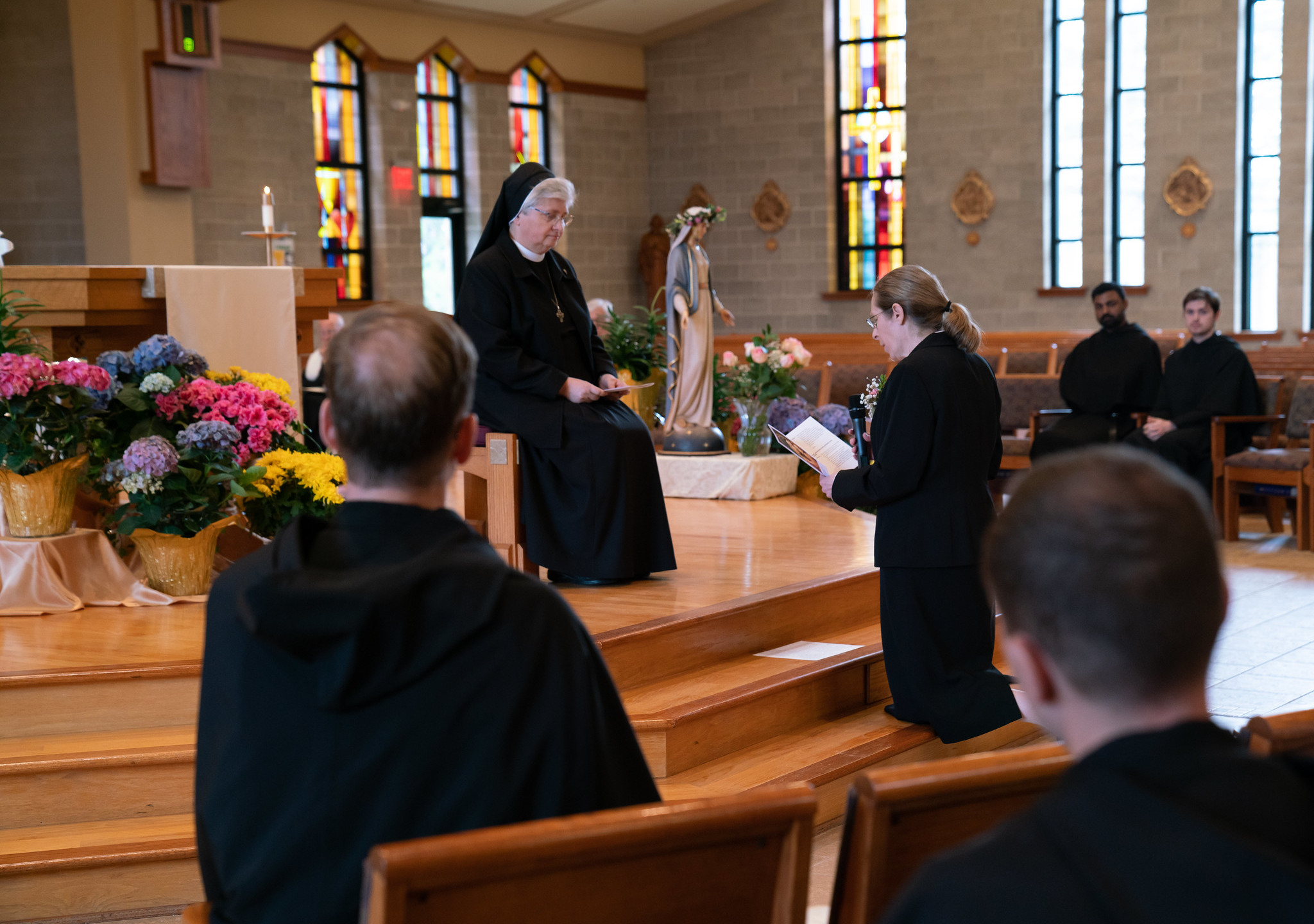 Professing her Vows