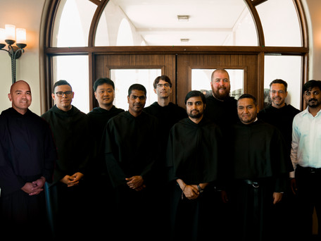 California Student Friars Unite at FANA Formation Gathering