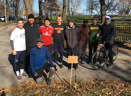 Augustinian Friars in Formation Run 3rd Annual Turkey Trot