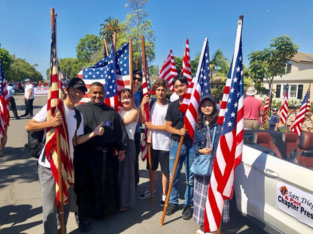 Augustinians on Parade for the 4th!