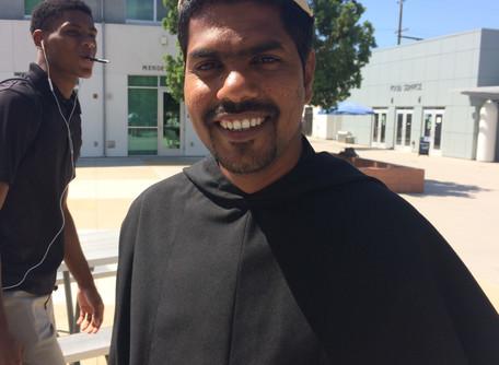 Br. Sarfraz Begins Pastoral Year at St. Augustine High School