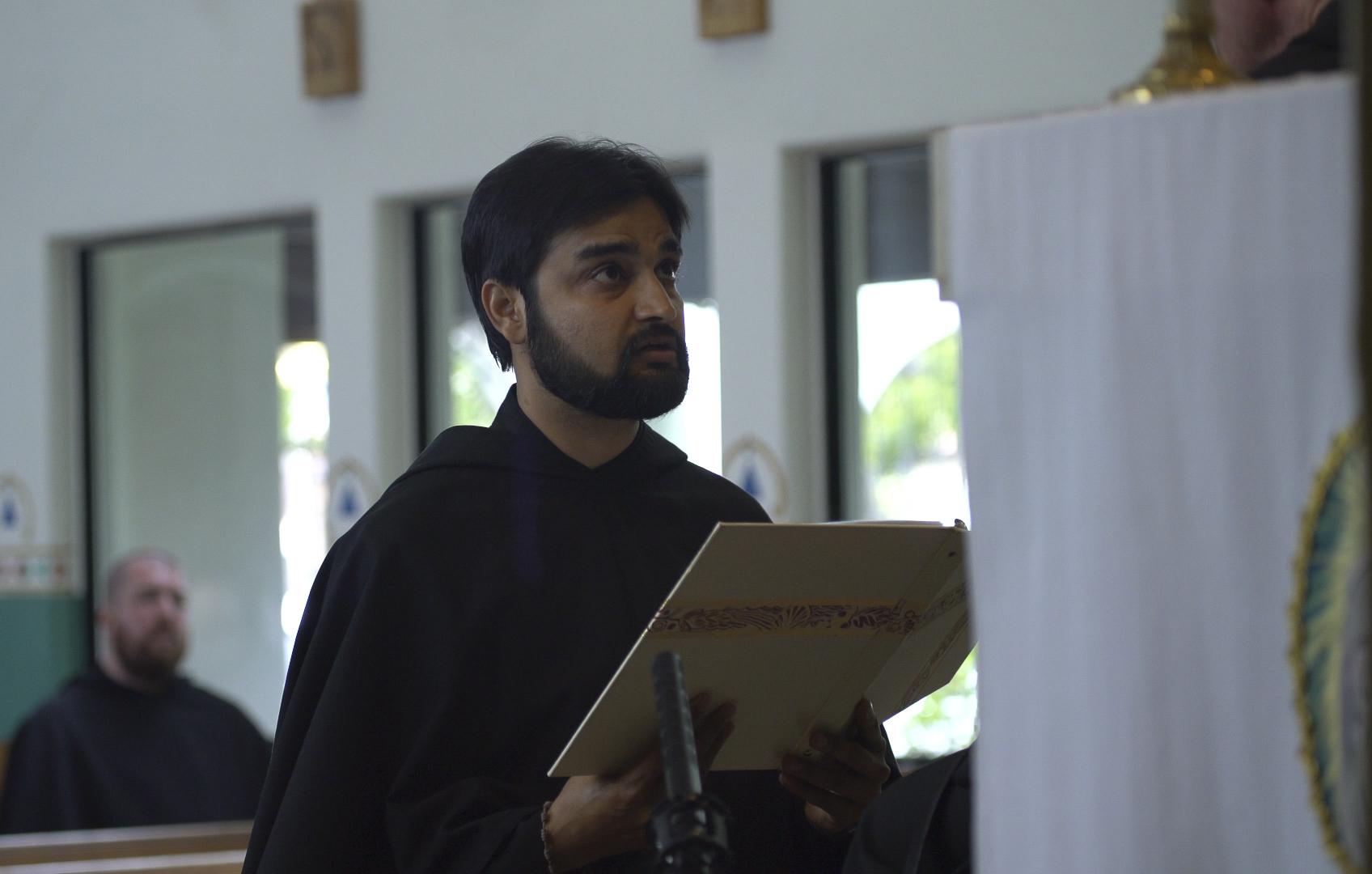 Br. Adnan Professes his Vows