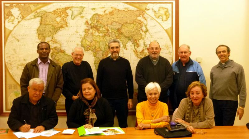 The commission gathered in Sacrofana Italy