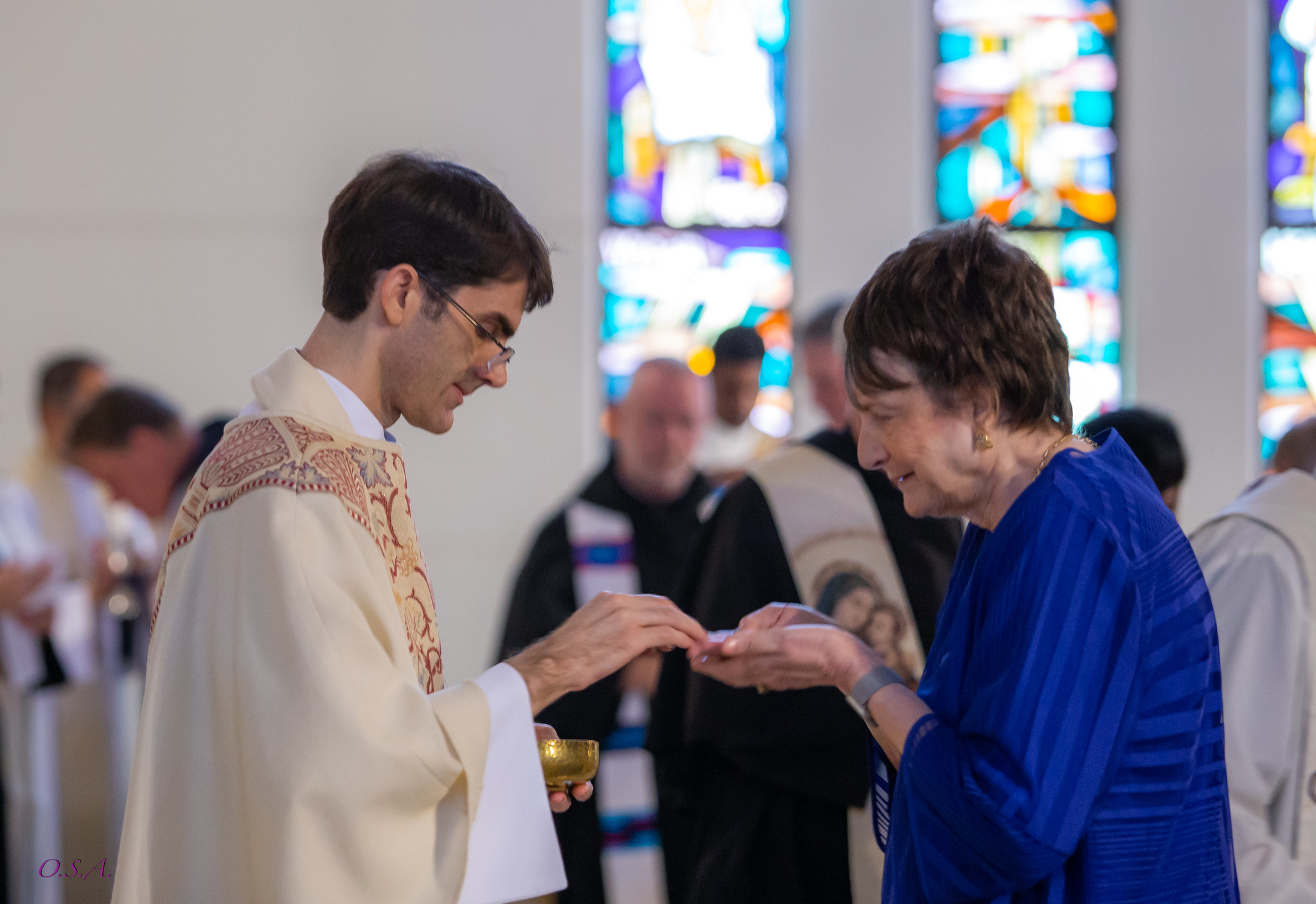 Fr. Nick and his Mother