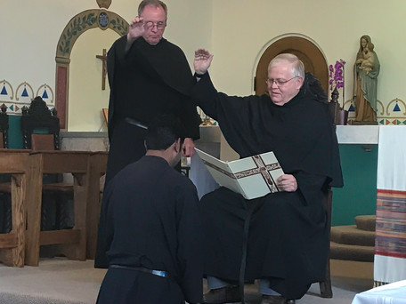 Br. Emmanuel Sent to the Novitiate