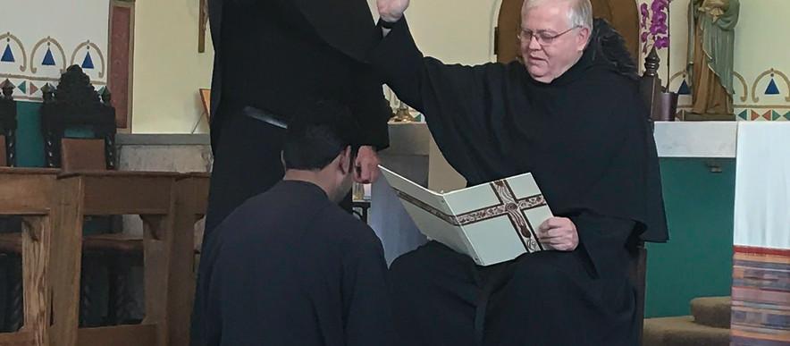 Br. Emmanuel Sent to the Novitiate