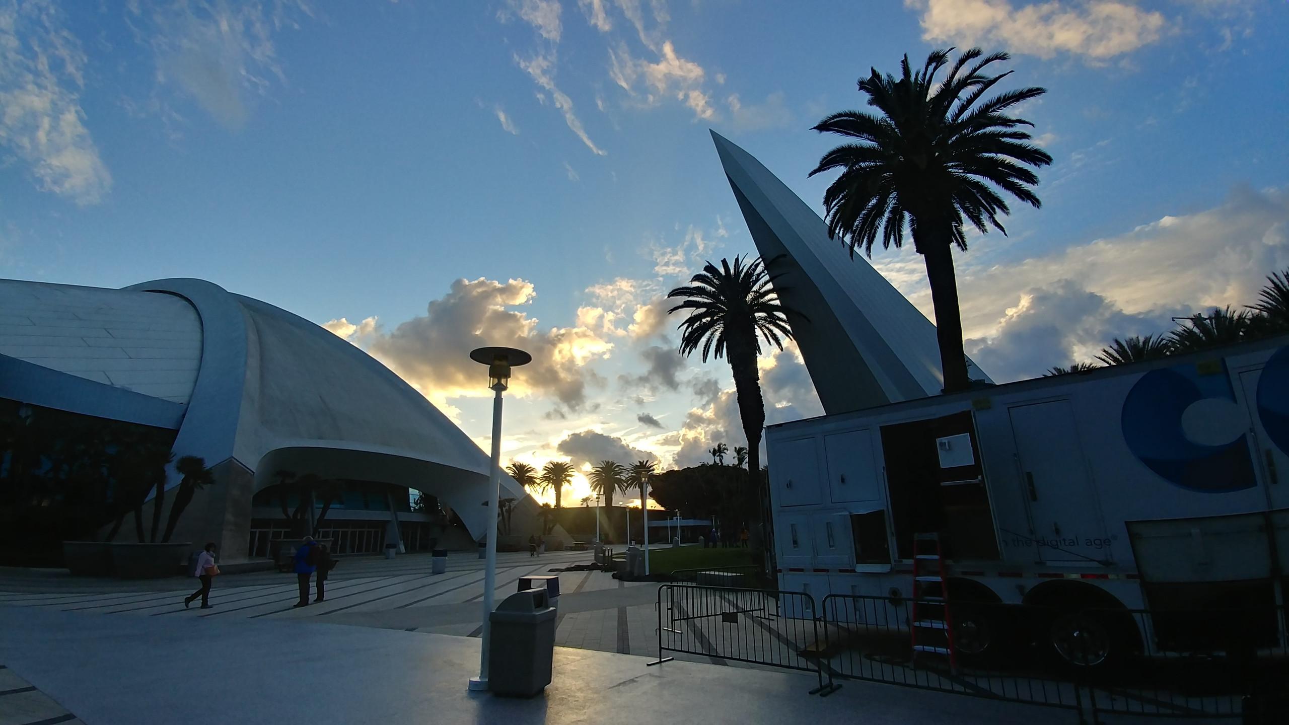 Sunset in Anaheim