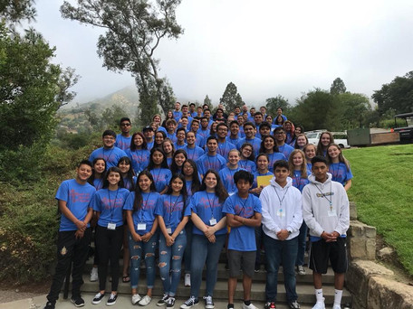 St. Thomas Youth Attend Leadership Retreat
