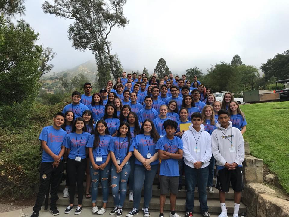 Two youth leaders from St. Thomas join others from the archdiocese at a leadership camp