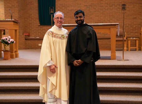 Br. Manny Heads Off to Begin Theological Studies