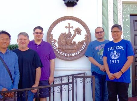 Five Men Join Fall Discernment Weekend
