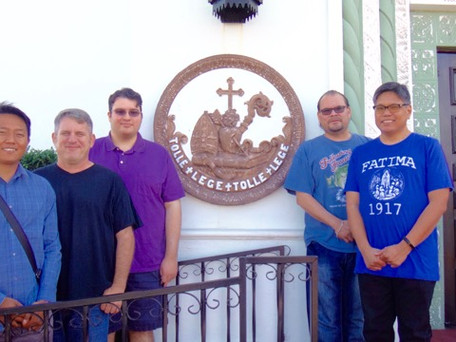 Five Men Join Fall Discernment Weekend