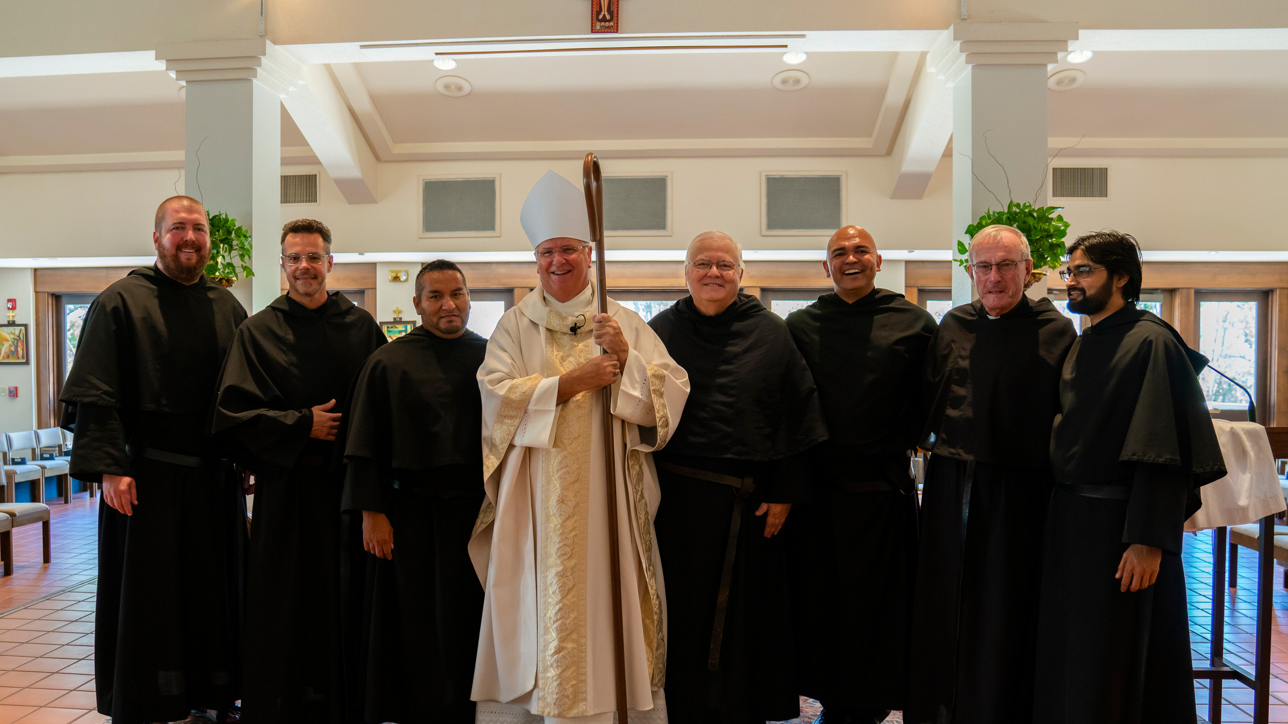 Augustinians Gathered in Support