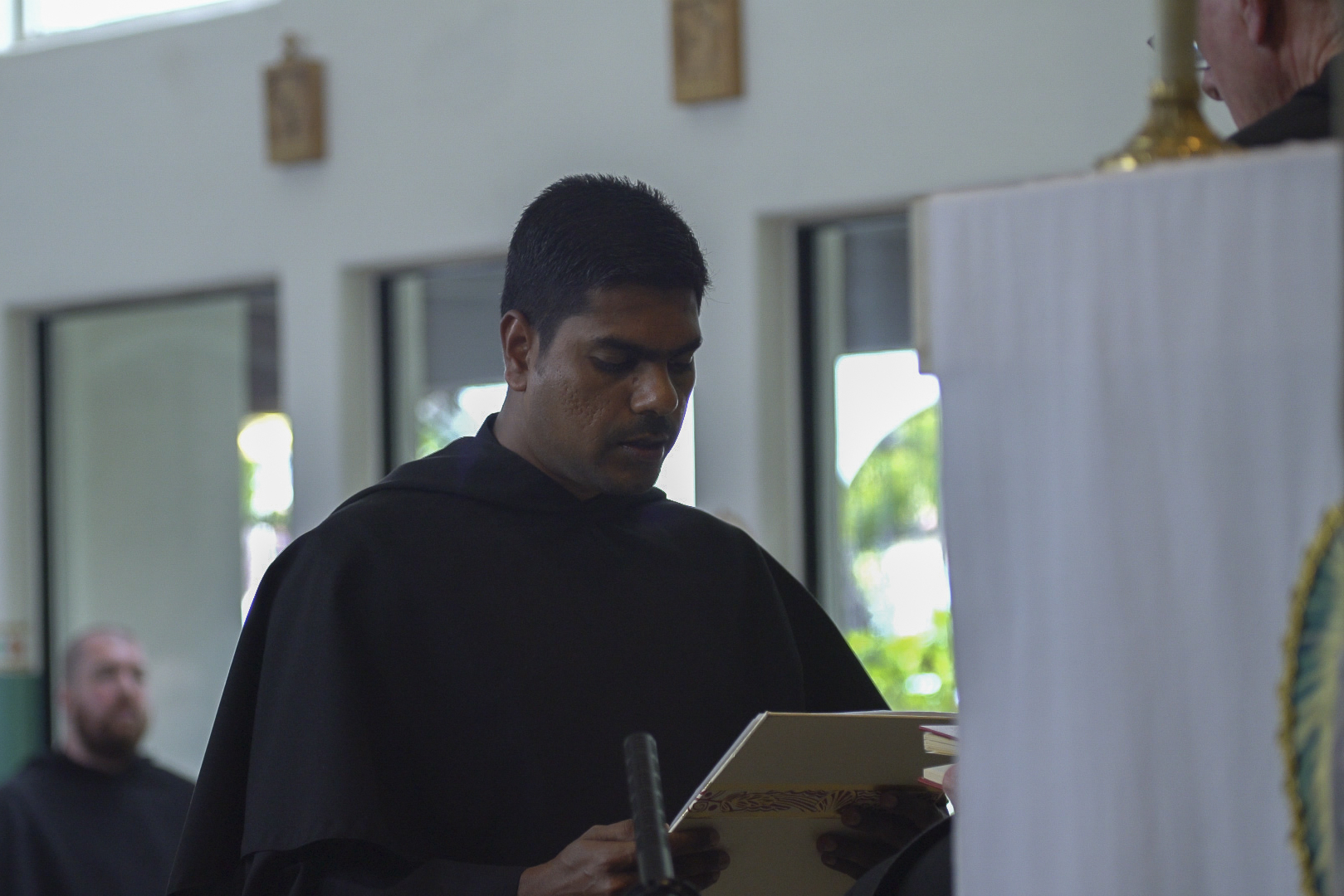 Br. Sarfraz Professes his Vows