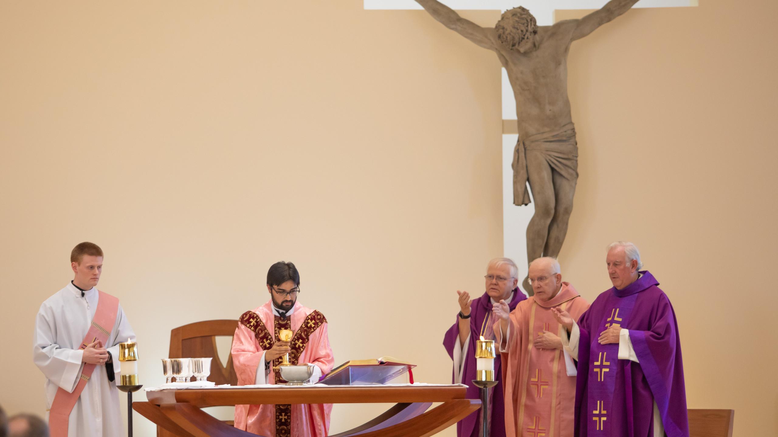 Fr Adnan First Mass