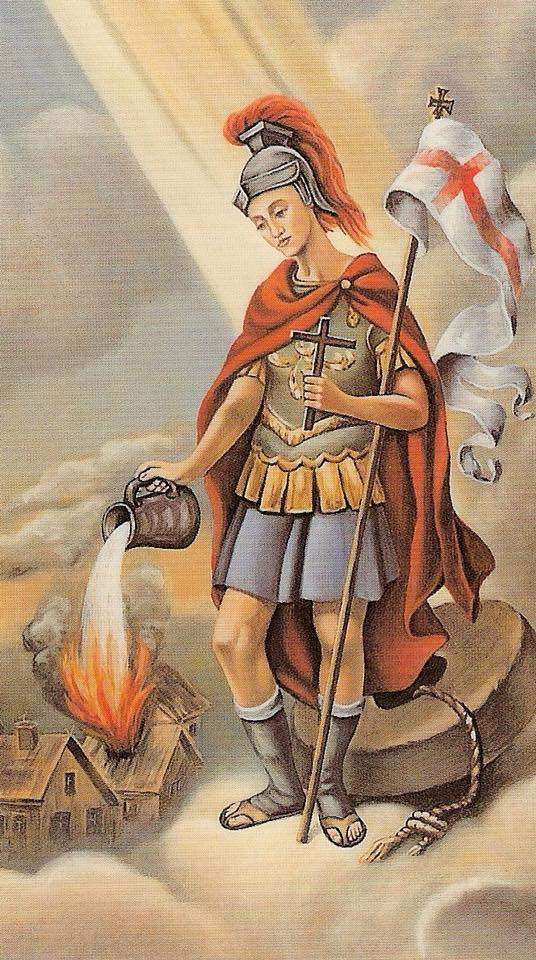 St. Florian, patron of firefighters