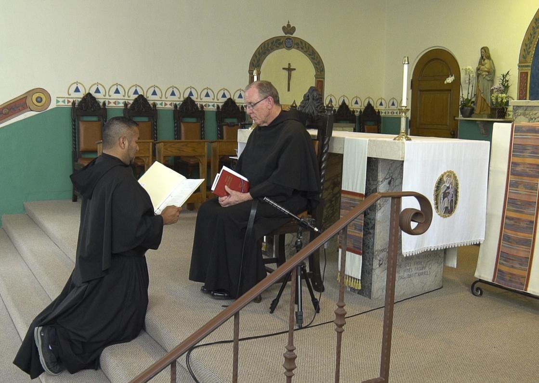 Br. Arturo Professes his Vows