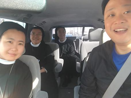 Dcn. Phil Begins Priesthood Retreat