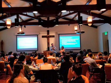 OMGC Lay Leaders Shine at Theology on Tap