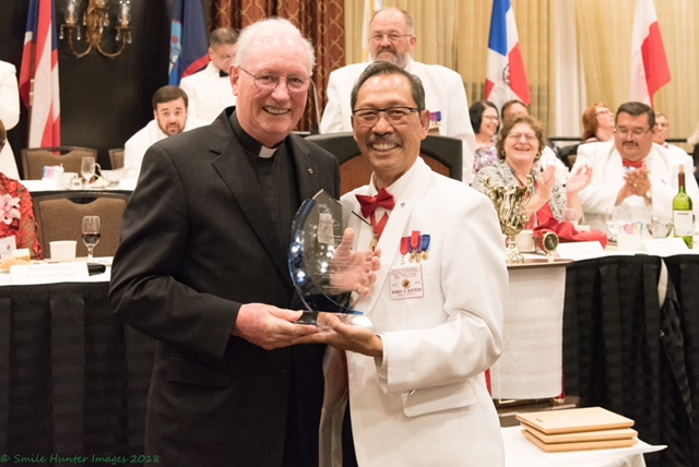 Fr. John Honored with KofC