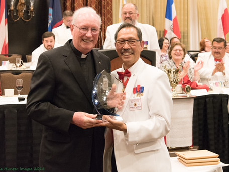 Fr. John Grace Honored as 'Priest of the Year'!