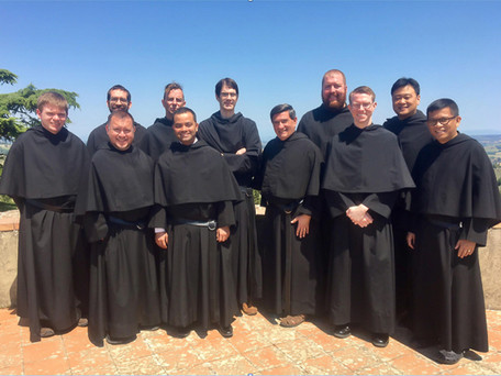 Pilgrimage in Italy by Augustinian Friars