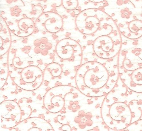 Raised Tissue Transfer-pink (plum blossom)