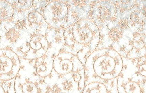 Raised Tissue Transfer-white (clover)
