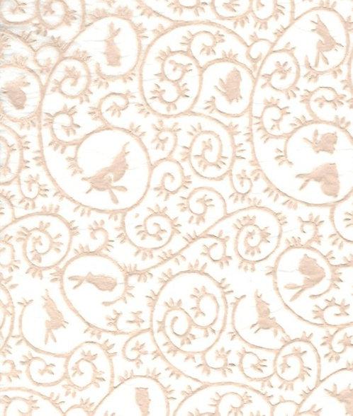 Raised Tissue Transfer-white (rabbit)