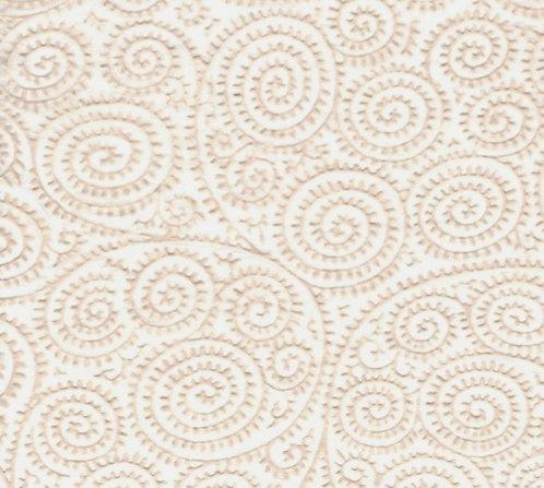 Raised Tissue Transfer-white (spiral)