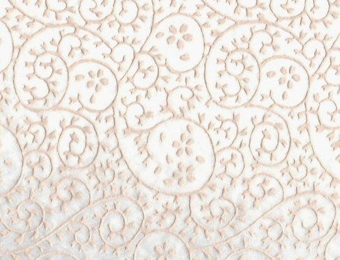 Raised Tissue Transfer-white (cherry blossom)