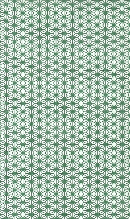Cube-small pattern green