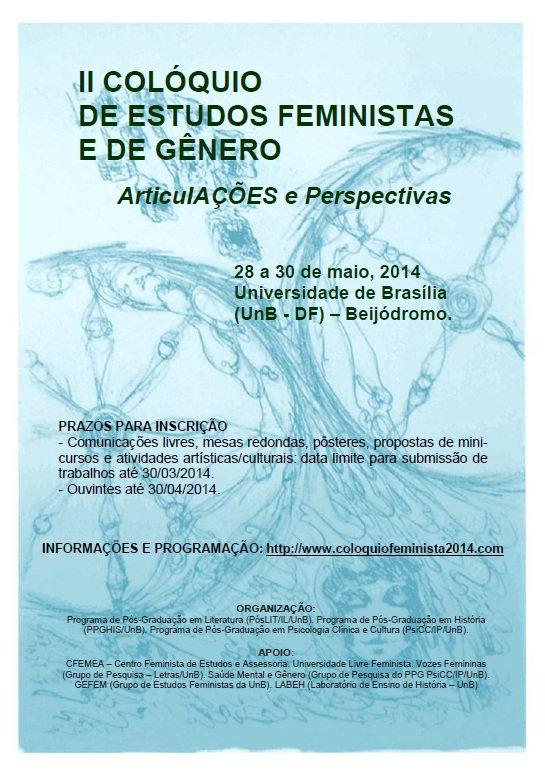 Colóquio d estudos feministas e de gênero 2014