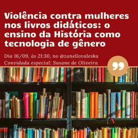 Violência contra mulheres nos livros didáticos: o ensino de História como tecnologia de gênero
