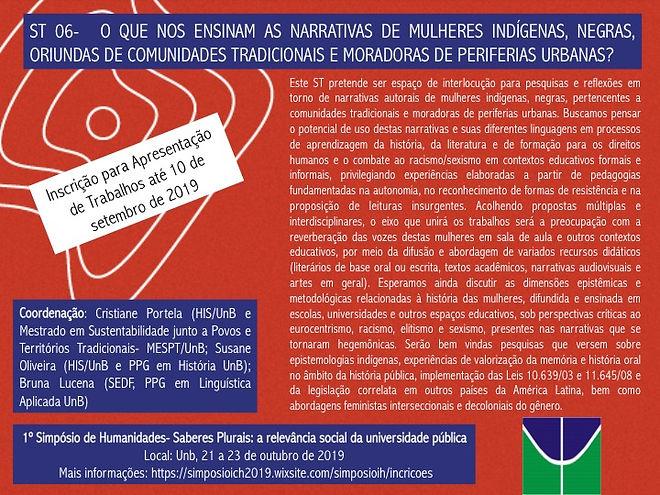 Simpósio de Humanidades UnB