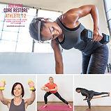 Athlete 12 Live Zoom Class &  Online Holistic Core & Restore®  12 Weeks