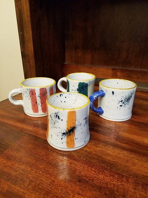 Item #29 - Cappuccino Mugs (4)