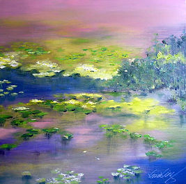 KK_00054a H78xW78  Lily Pond I.jpg