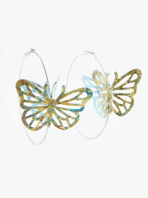 Créoles Papillon double