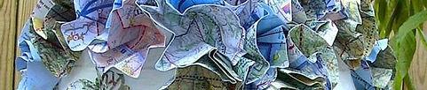 décoration carte aéronautique